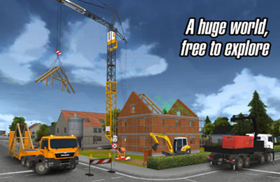 Écrans du jeu Construction Simulator 2014 pour iPhone, iPad ou iPod.