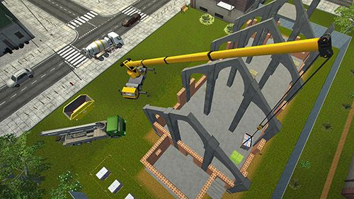 Screenshots vom Spiel Construction simulator 2017 für iPhone, iPad oder iPod.