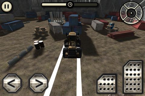 Screenshots of the Construction truck: Simulator game for iPhone, iPad or iPod.
