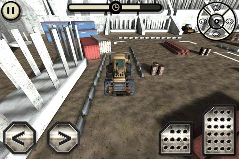 Screenshots vom Spiel Construction truck: Simulator für iPhone, iPad oder iPod.
