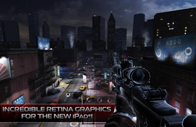 Capturas de pantalla del juego Contract Killer 2 para iPhone, iPad o iPod.