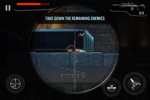 Screenshots vom Spiel Contract killer 3 für iPhone, iPad oder iPod.