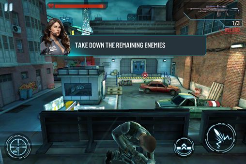 Descarga gratuita de Shadowgun para iPhone, iPad y iPod.