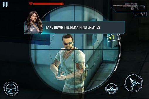 Écrans du jeu Contract killer: Sniper pour iPhone, iPad ou iPod.