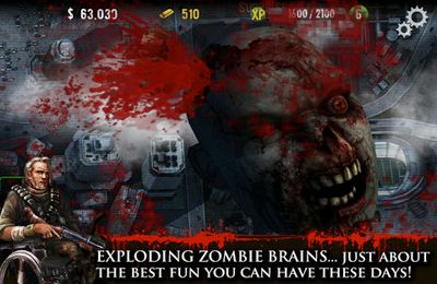Screenshots vom Spiel Contract Killer: Zombies für iPhone, iPad oder iPod.