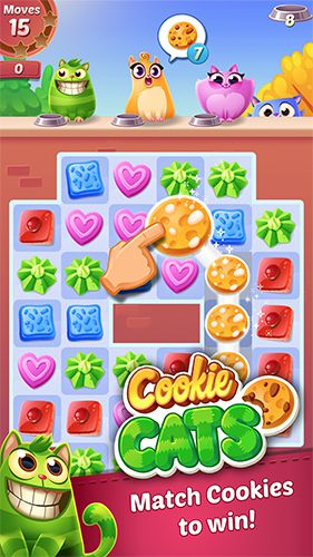 Baixe Cookie cats gratuitamente para iPhone, iPad e iPod.