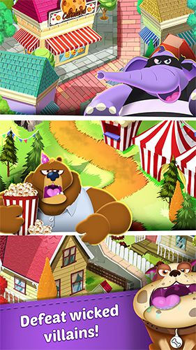Screenshots do jogo Cookie cats para iPhone, iPad ou iPod.