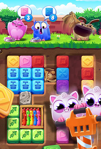 Free Cookie cats blast download for iPhone, iPad and iPod.