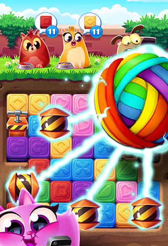 Screenshots vom Spiel Cookie cats blast für iPhone, iPad oder iPod.