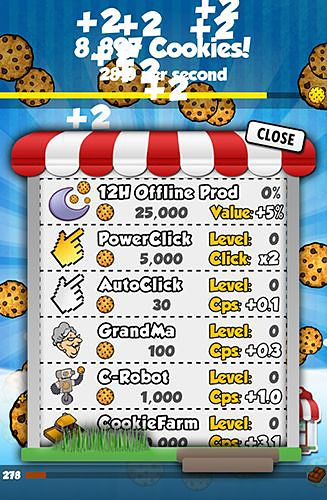 Free Cookie clickers download for iPhone, iPad and iPod.