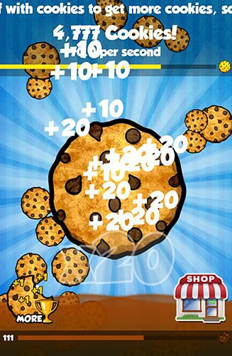 Screenshots of the Cookie clickers game for iPhone, iPad or iPod.