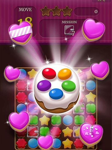 Écrans du jeu Cookie crunch classic pour iPhone, iPad ou iPod.
