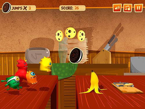 Descarga gratuita de Cookie gluttons run para iPhone, iPad y iPod.