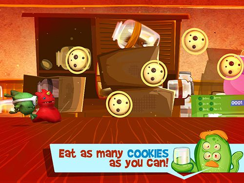 Screenshots vom Spiel Cookie gluttons run für iPhone, iPad oder iPod.
