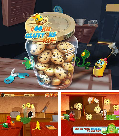 In addition to the game Flying Hamster for iPhone, iPad or iPod, you can also download Cookie gluttons run for free.