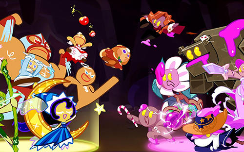 Download Cookie wars: Cookie run iPhone free game.