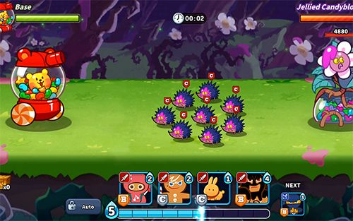 Screenshots of the Cookie wars: Cookie run game for iPhone, iPad or iPod.