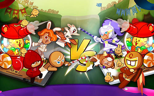 Écrans du jeu Cookie wars: Cookie run pour iPhone, iPad ou iPod.