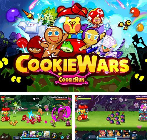In addition to the game Cut the rope 2: Om-Nom's unexpected adventure for iPhone, iPad or iPod, you can also download Cookie wars: Cookie run for free.