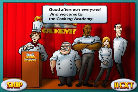 Download Cooking academy iPhone free game.