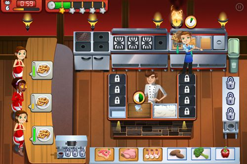 Screenshots of the Cooking dash 2016 game for iPhone, iPad or iPod.
