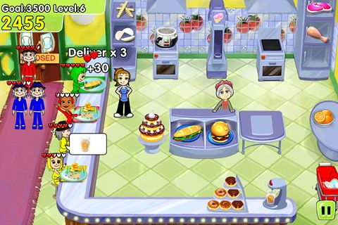 Descarga gratuita de Cooking dash: Deluxe para iPhone, iPad y iPod.