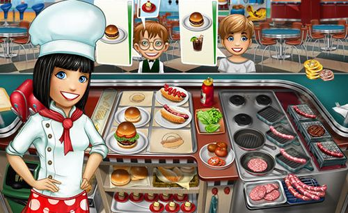 Screenshots of the Cooking fever game for iPhone, iPad or iPod.