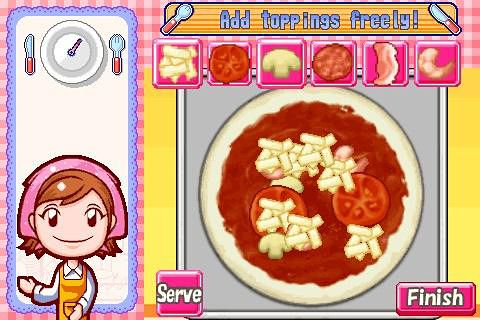Screenshots of the Cooking mama game for iPhone, iPad or iPod.