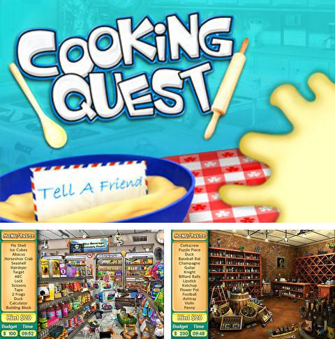Download Cooking quest iPhone free game.