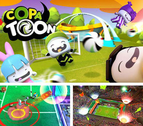 In addition to the game Lumber whack: Defend the wild for iPhone, iPad or iPod, you can also download Copa toon for free.
