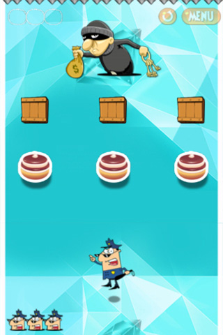 Screenshots vom Spiel Cops and robbers für iPhone, iPad oder iPod.