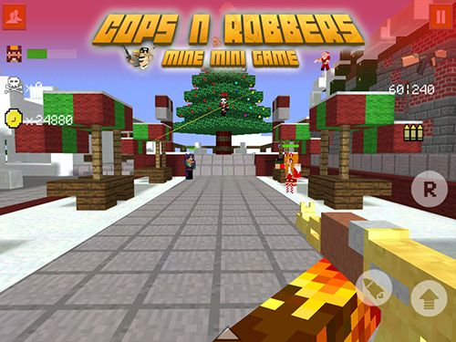 cops and robbers minecraft game online
