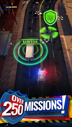 Screenshots of the Cops: On patrol game for iPhone, iPad or iPod.