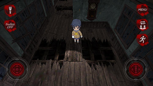 Screenshots vom Spiel Corpse party: Blood drive für iPhone, iPad oder iPod.