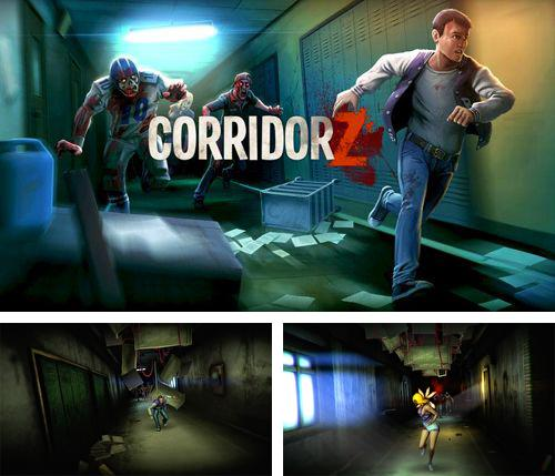 In addition to the game Apple jump for iPhone, iPad or iPod, you can also download Corridor Z for free.