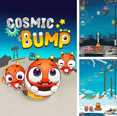 In addition to the game Hoppetee! for iPhone, iPad or iPod, you can also download Cosmic bump for free.