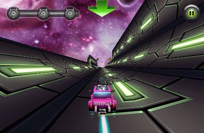Screenshots of the Cosmic Cab game for iPhone, iPad or iPod.