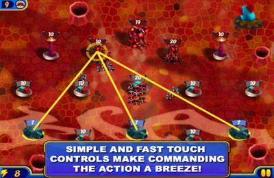 Screenshots of the Cosmic Conquest game for iPhone, iPad or iPod.