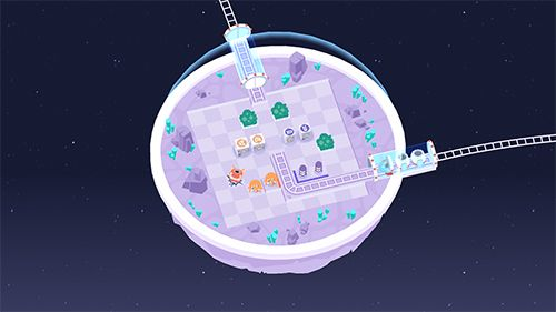 Screenshots of the Cosmic express game for iPhone, iPad or iPod.