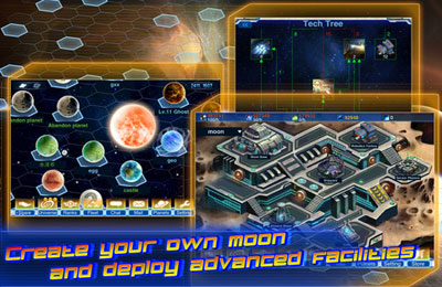 Screenshots of the Cosmos Craft Luxury game for iPhone, iPad or iPod.