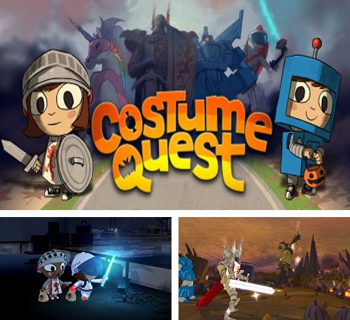 In addition to the game Skatin Girlz for iPhone, iPad or iPod, you can also download Costume Quest for free.