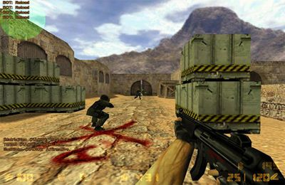 Écrans du jeu Counter Strike pour iPhone, iPad ou iPod.