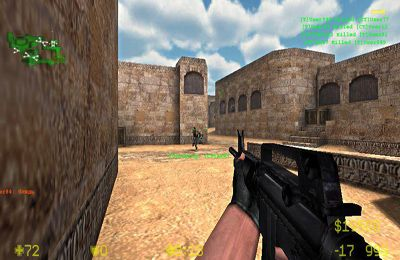 Screenshots vom Spiel Counter Strike für iPhone, iPad oder iPod.