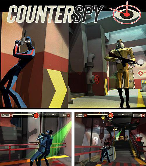 In addition to the game Cake ninja for iPhone, iPad or iPod, you can also download Counterspy for free.