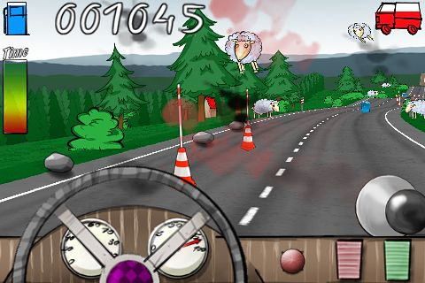 Screenshots do jogo Country Driver para iPhone, iPad ou iPod.