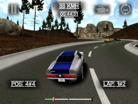 Capturas de pantalla del juego Country ride para iPhone, iPad o iPod.