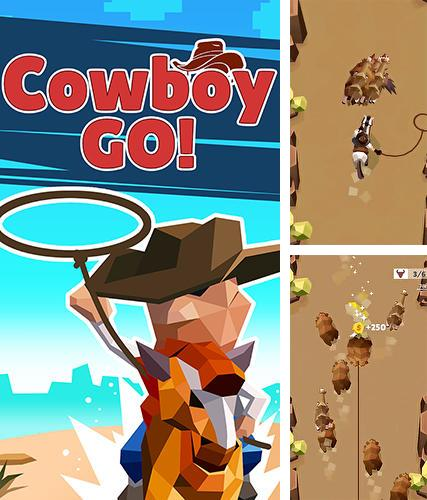 In addition to the game Run like hell! for iPhone, iPad or iPod, you can also download Cowboy GO! for free.