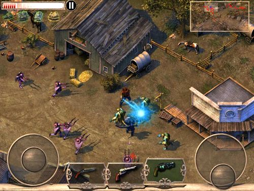 Free Cowboys & aliens download for iPhone, iPad and iPod.