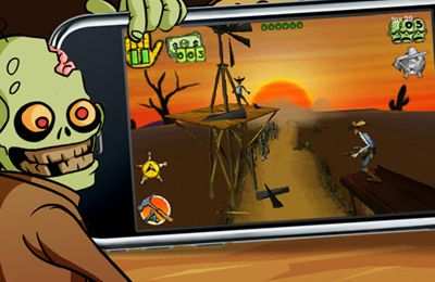 Скачать Cowboys vs. Zombies на iPhone бесплатно