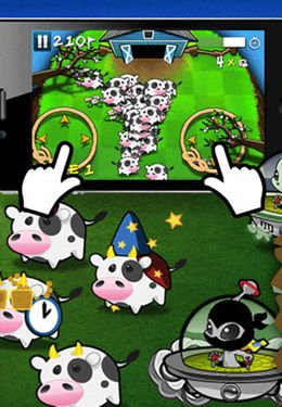 Free Cows vs. Aliens download for iPhone, iPad and iPod.